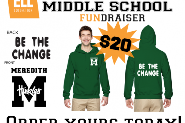 Meredith Middle School ELL Sweater