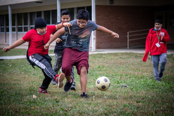 Paletas and Fútbol on the Lawn for Hispanic Heritage Month